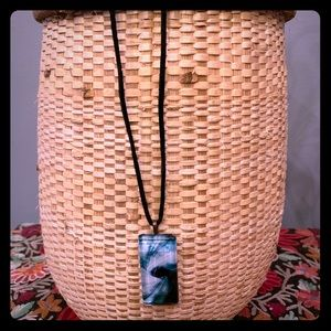 Necklace with art photography